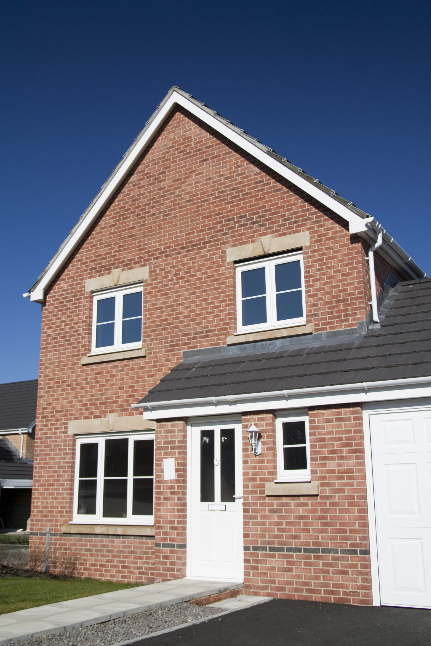 House building starts in england below 100 000 for Building a house loan options