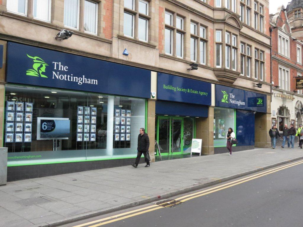 Nottingham Building Society Shepshed Branch