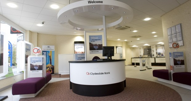 400 jobs to go at Clydesdale and Yorkshire Bank