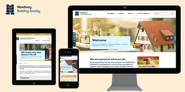 A New Website For Newbury Building Society