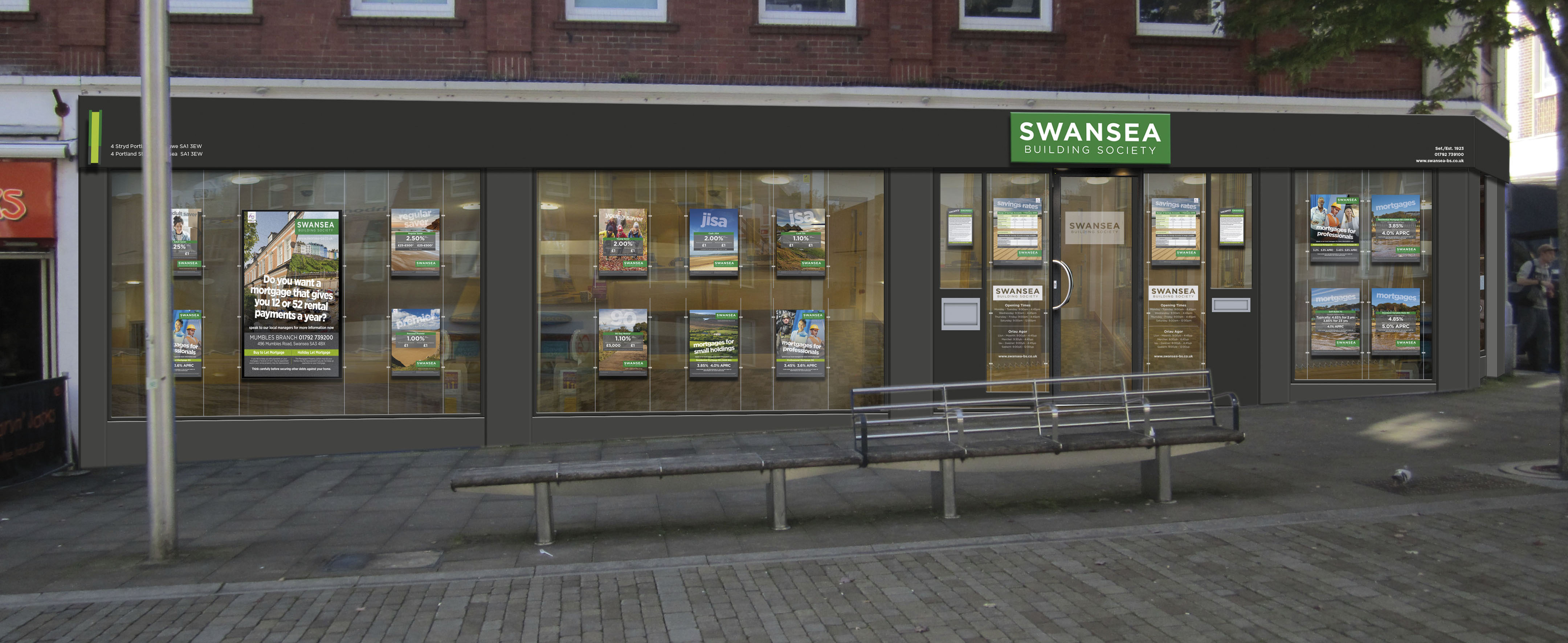 What Is Insurance Fraud >> New branch confirmed for Swansea Building Society