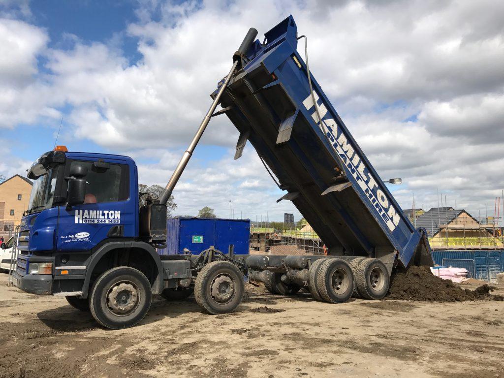 8 Wheel Tipper Lorries Plant Hire Guide